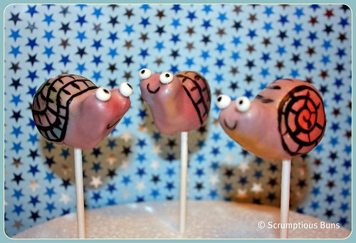 Snail Pops by Scrumptious Buns (Samantha)