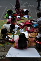 (NiH) Tags: street education dhaka illiteracy literacy shahbag paribag studentinitiative educationalinitiative