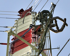 _DSC9010 (sara97) Tags: tower bluesky missouri saintlouis antenna broadcasttower kdhx hdantenna analogantenna kdhxfm881 kdhxcommunitymedia photobysaraannefinke copyright2011saraannefinke