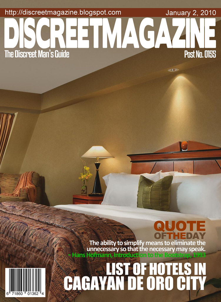Discreet Magazine January 2 2010