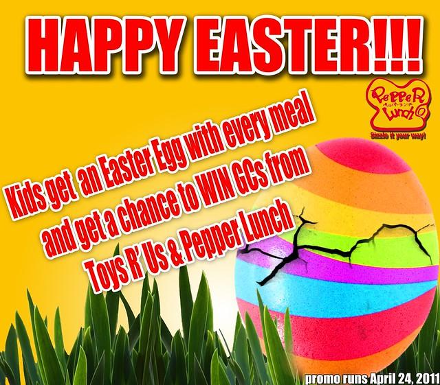 Easter Sunday Promo