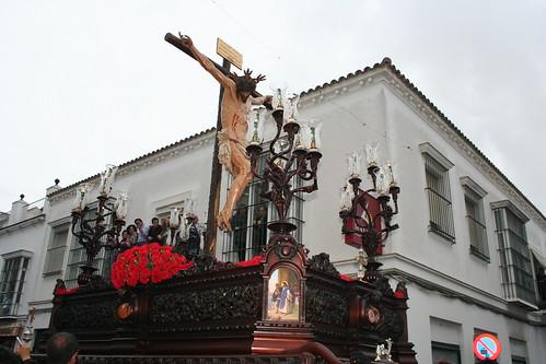 Santísimo Cristo de la Vera+Cruz. Procesión Magna del Santo Entierro. Sanlúcar de Barrameda, Sábado Santo 2011