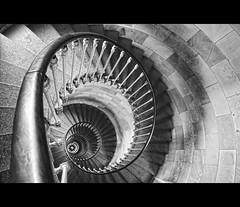 @ (AO-photos) Tags: blackandwhite stairs nikon noiretblanc deep phare escaliers vertige profond pharedesbaleines d5000