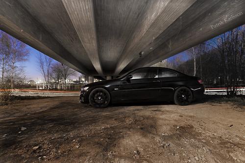bmw 335i black. BMW 335i Black Beast