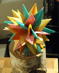 Conar-48 (Aneta_a) Tags: origami planar modularorigami octahedralsymmetry