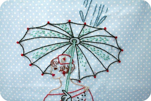 Beaded Umbrella