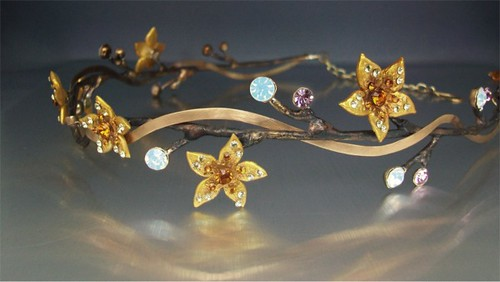 Brass Branch Circlet