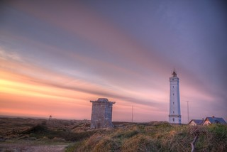 Blavand Lighthouse Evening