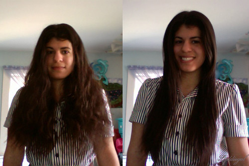 hair before and after