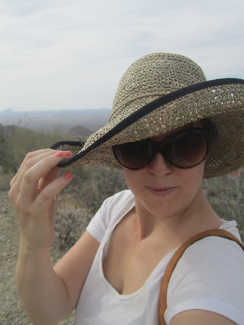 Self Portrait with Sunhat