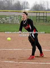 7I1R8311 (warren.robison) Tags: girls sports girl sport ball out photography action central first indiana christian highschool varsity softball bethesda pitcher triton basemen filder fairland ihsaa