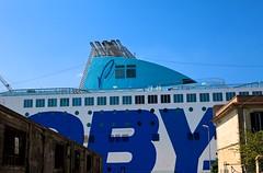 """Porto di Livorno """" Hope in a ship ... """" (mauropaolocascasi) Tags: colore nave cielo toscana azzurro livorno viaggio emigranti vacanza crociera traghetto speranza migranti"""