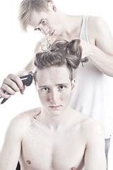 haare schneiden3 (Christian.Schreiber) Tags: youth hair cut hitler christian editorial haare schreiber schneiden vorbilder