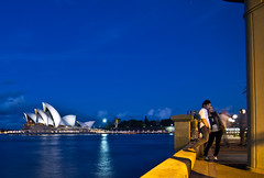 Circular Quay (photo obsessed) Tags: night buildings theater sydney australia circularquay nsw newsouthwales operahouse sydneyoperahouse oceania placesofinterest leisurebuildings countriescitiestownsareas