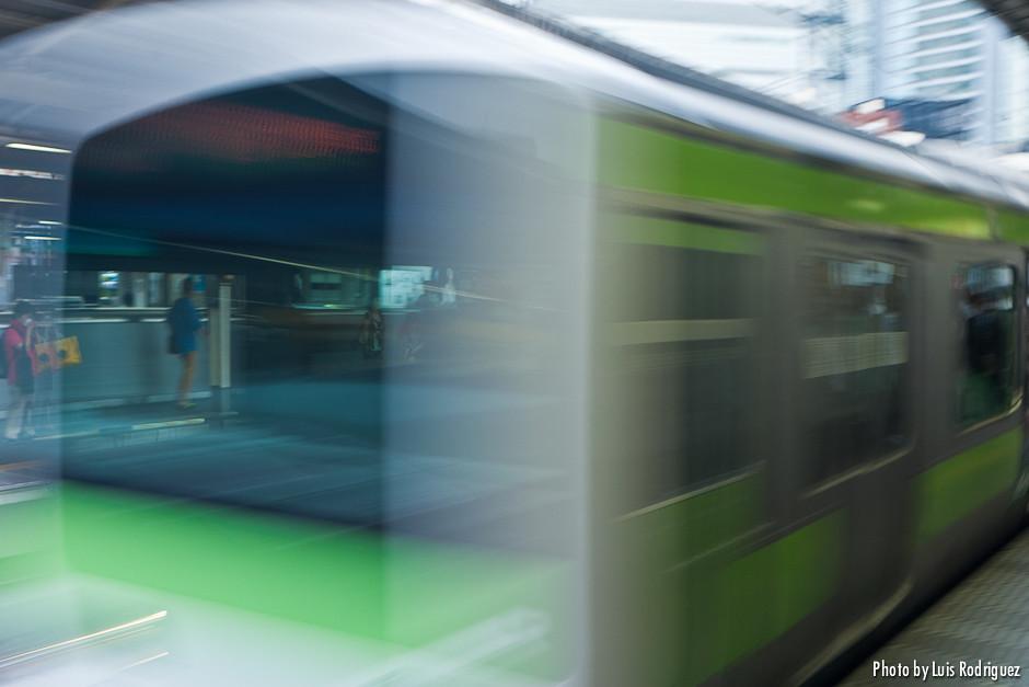 La línea Yamanote en Ginza