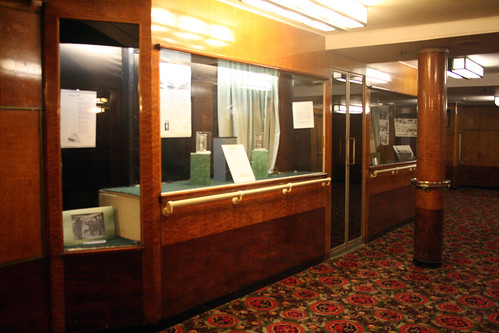 Queen Mary - Outside Former Second-Class Lounge (Now Brittania Room)