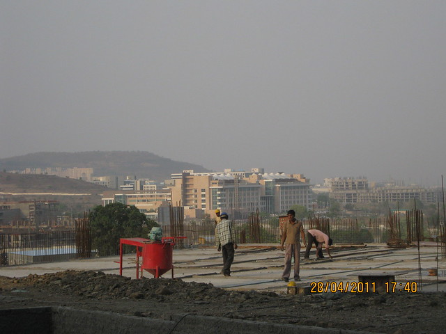 Podium & Tech-Mahindra - View from the B Tower in Sangria at Megapolis Hinjewadi Phase 3, Pune