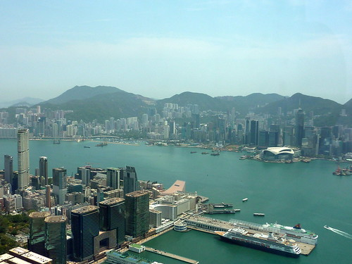 Kowloon and Hong Kong Island