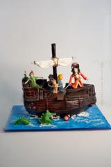 Peter Pan (sugar-blossom) Tags: cake kidscake carvedcake sugarcouture