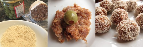 Sausage & Olive Bites