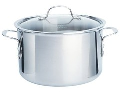 [photo-stainless steel stock pot]
