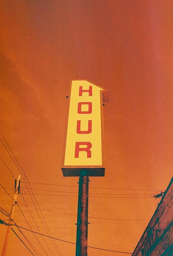 One Hour Laundry, Albany NY, in Redscale