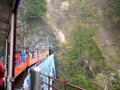 黒部峡谷鉄道トロッコ列車