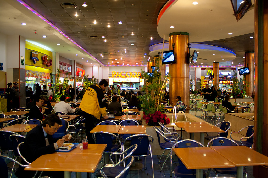 Food Court - Santiago, Chile