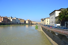 DSC_0461 (5) (pjpink) Tags: italy reflection water river florence spring tuscany firenze arno 2011 pjpink