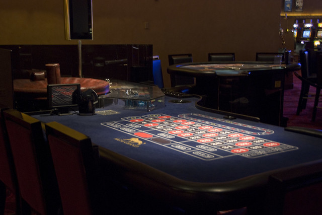 D2 roulette table