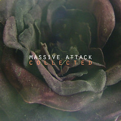 Massive Attack - Collected (dhammza) Tags: black rose disco photo album rosa cover massiveattack withered negra portada marchita dmr collected dhammzasmusicrevisited albumcoversrevisited