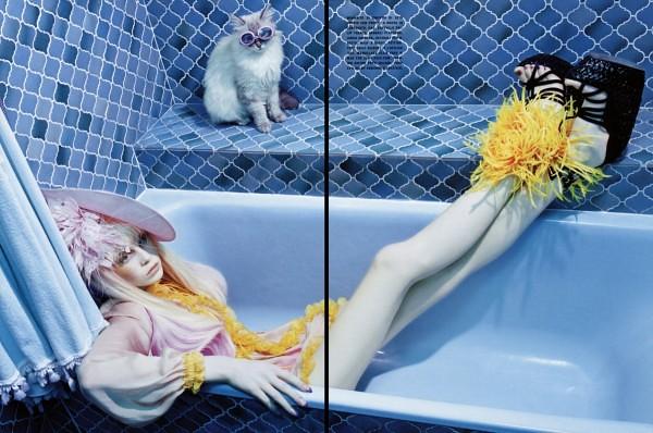 Miles Aldridge Vogue Italia 4