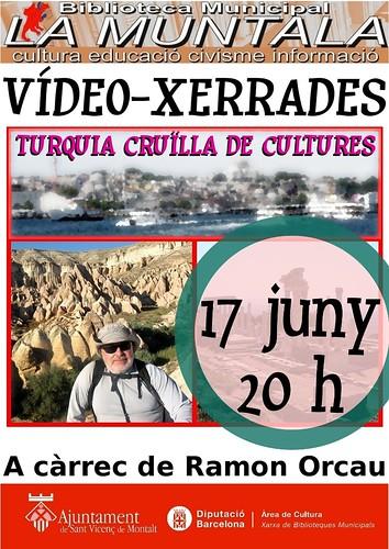 Vídeo-xerrada: Turquia, cruïlla de cultures 17 juny by bibliotecalamuntala