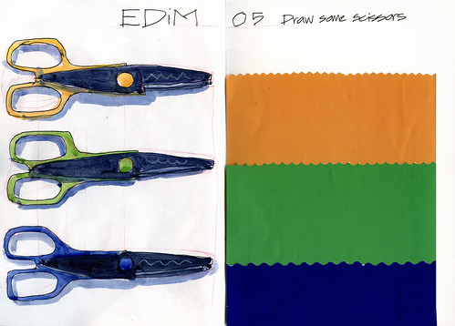 EDiM05 Some scissors