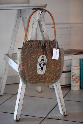 Nitinha's bag with Marilyn Monroe by good mood factory