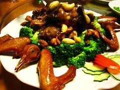Fried sliced Pigeon  (MelindaChan^^) Tags: food restaurant pigeon chinese mel eat cny meal sliced melinda macau fried  chanmelmel melindachan