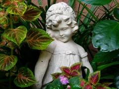Charleston Garden Statue