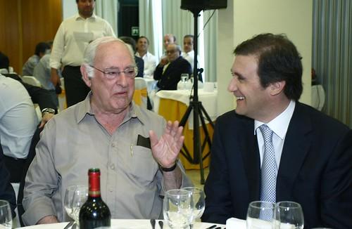 Pedro Passos Coelho  no almoço  com Professores em Vila Franca de Xira