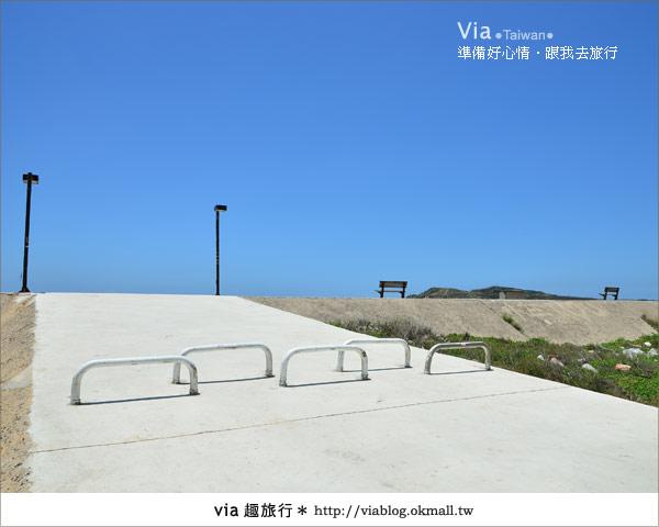 【澎湖沙灘】山水沙灘,遇到菊島的夢幻海灘!2