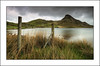 Cregennan Lake (-terry-) Tags: sky cloud mountain lake grass fence flickr post explore northwales flickrexplore seeninexplore cregennanlake