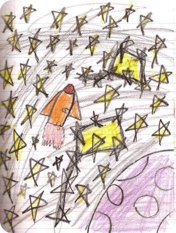 Sarah's rocket - (small)