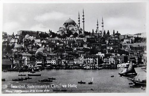 Istanbul, Suleymaniye Camii ve Haliç