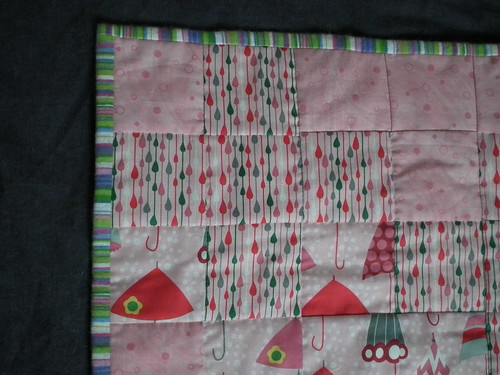 baby quilt gift