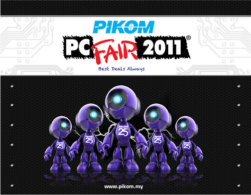 Banner PIKOM PC Fair II 2011