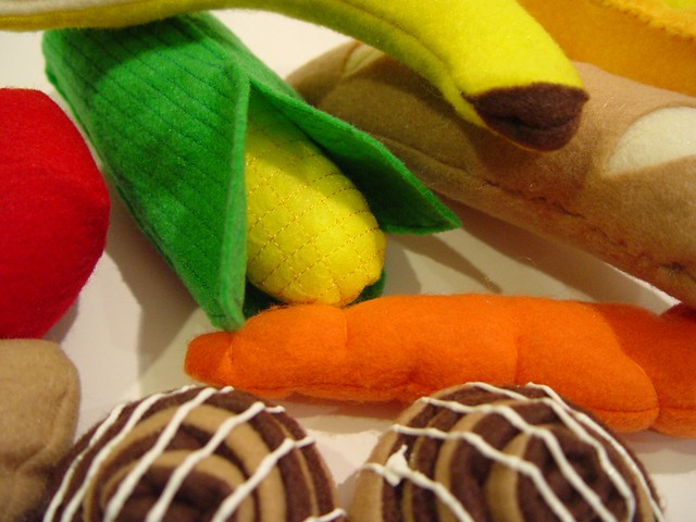 play food, close up 1