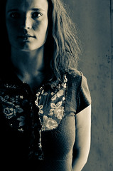 Just a snapshot to test the light (Lexitos <....>) Tags: portrait white black alex girl sad 1750 melancholy tamron schroder d7000 lexitos alexschroder
