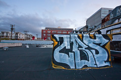CBS (Jeffrey-Anthony) Tags: rooftop graffiti oakland bayarea eastbay aura cbs cobras jeffreyanthony