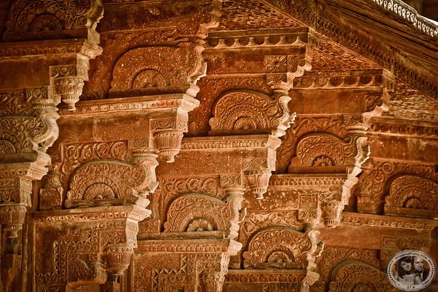 Engraved Columns