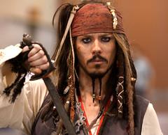 Captain Jack Sparrow (Gage Skidmore) Tags: arizona phoenix jack comic cosplay carribean sparrow pirate captain comicon con