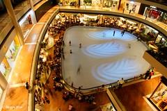 The indoor skating rink. (Reggie Wan) Tags: tourism singapore asia southeastasia interior iceskating aerialview shoppingmall skatingrink modernbuilding marinabay asiancity marinabaysands sonya700 sonyalpha700